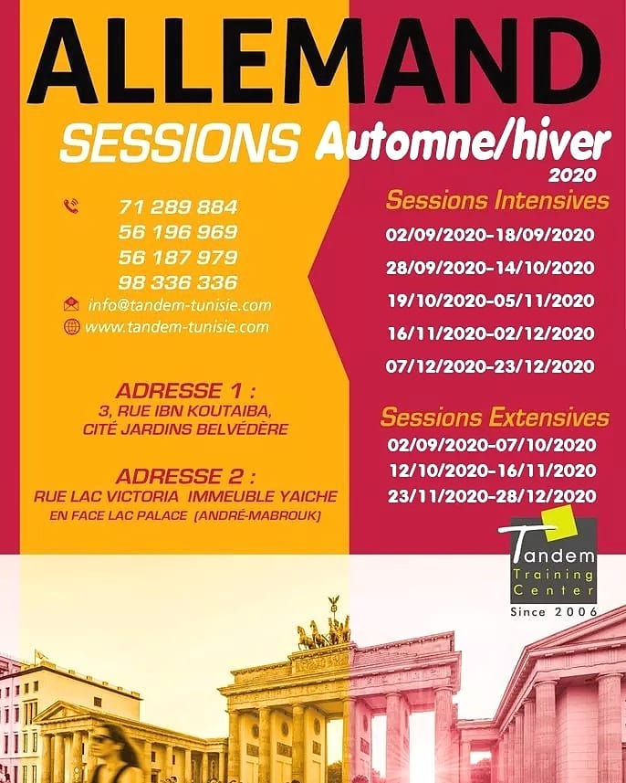 Session Allemand